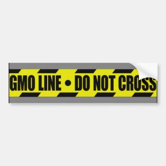 gmo line bumper sticker