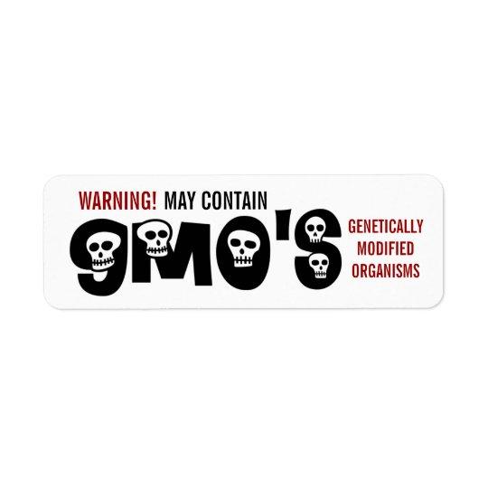 GMO Warning Label