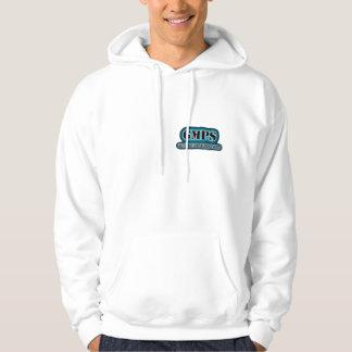 gmps red tat ball logo hoodie