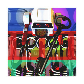GMT 24 Heures Project Pop Psychedelic Frames 2 S C Canvas Print