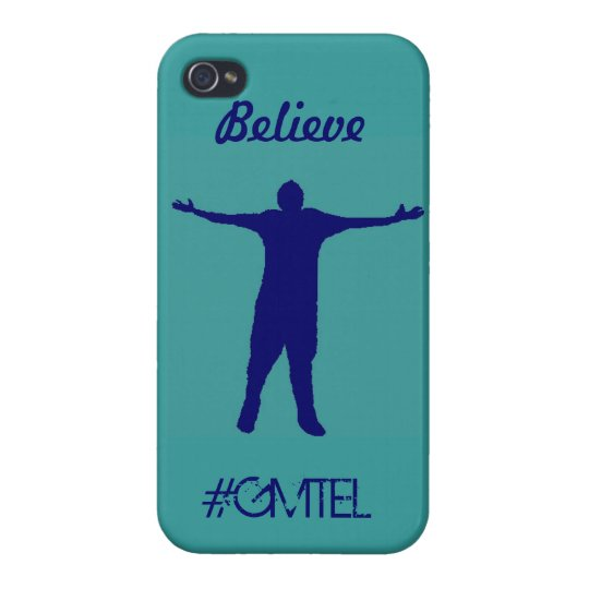 GMTEL Believe case Cover For iPhone 4