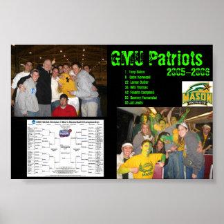 GMU patriots Poster