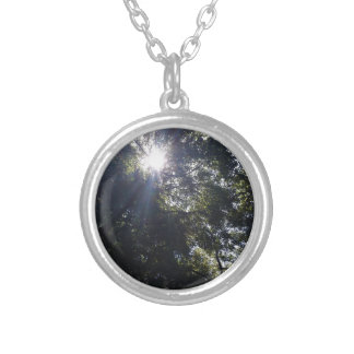 Gnarly. Silver Plated Necklace