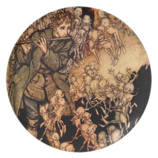 Gnaughty Gnomes Fairytale Ver 1 Plate