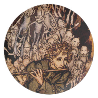 Gnaughty Gnomes Fairytale Ver. 5 Plate