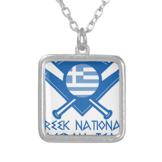 GNBTLogo3 Silver Plated Necklace