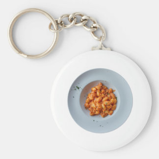 gnocchi with meat sauce keychain