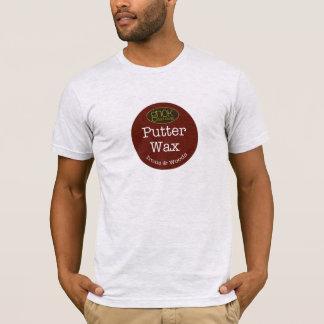 gNoK Golf Clubs Wax on- Wax off T-Shirt