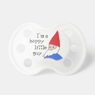 Gnome baby pacifier
