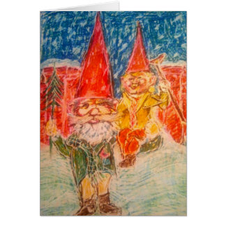 Gnome Bless Us Christmas Card