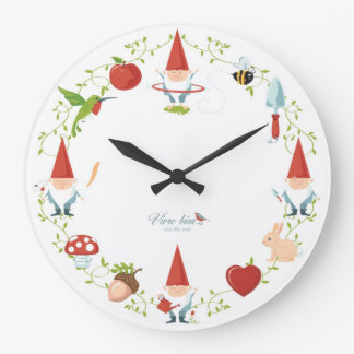 Gnome-body: Wall clocks