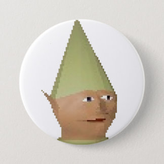 "Gnome Child 3"" Button"