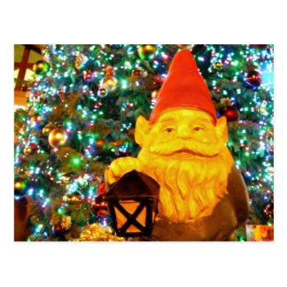 Gnome de Joyeux Noël Carte Postale