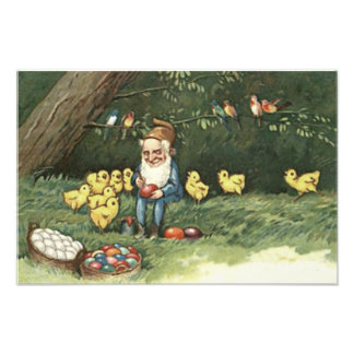 Gnome Elf Easter Colored Painted Egg Chick Photo Print