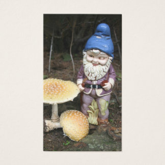 Gnome In The Garden Business Card