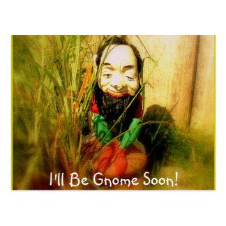 Gnome King Postcard