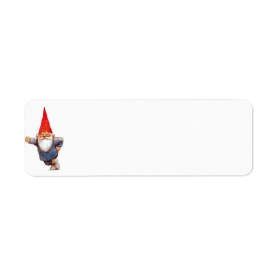 Gnome Label Return Address Label