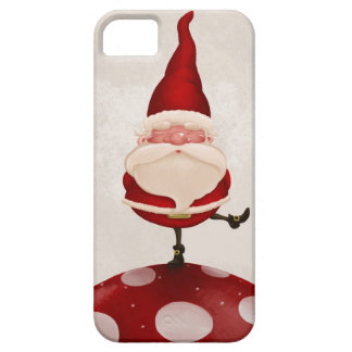 Gnome on fungus iPhone 5 cases