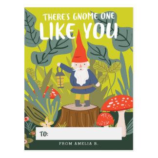 Gnome One Like You Valentine Postcard