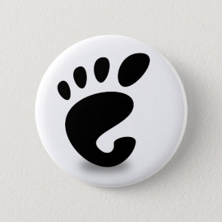 Gnome soon 2 inch round button