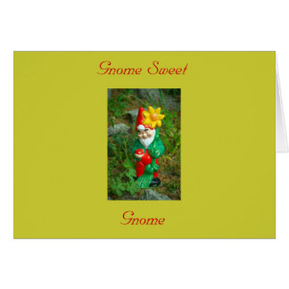 Gnome Sweet Gnome Card