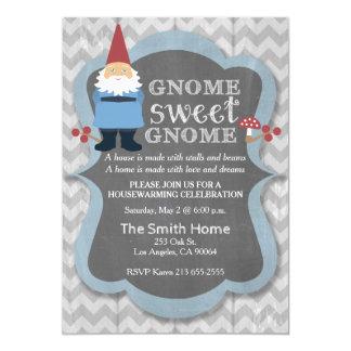Gnome Sweet Gnome Housewarming Party Invitation