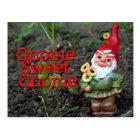 Gnome Sweet Gnome Postcard