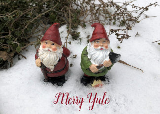 Gnome Thyme - Merry Yule Holiday Card
