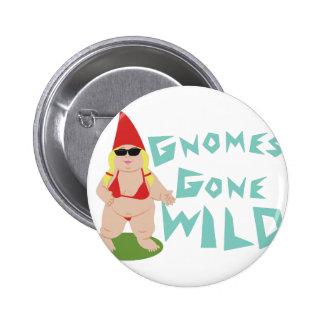 Gnome Wild 2 Inch Round Button