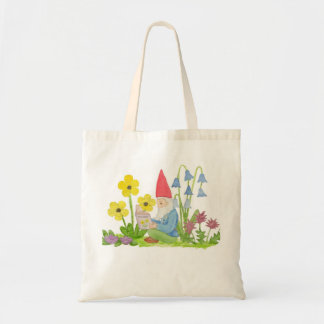 Gnome with Flower Book bag