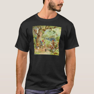 Gnomes, Elves and Fairies in the Magical Forest T-Shirt
