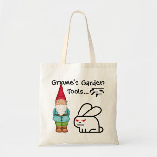 Gnome's Garden Tools Tote Bag