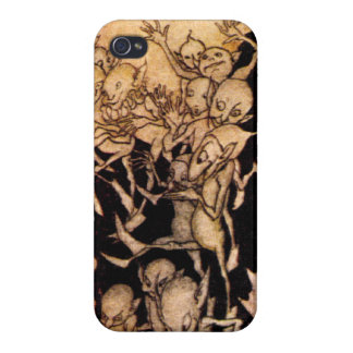 Gnomes I by Arthur Rackham Cover For iPhone 4