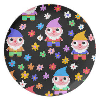 gnomes plate