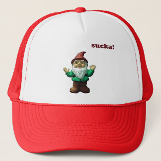 gnomester trucker hat