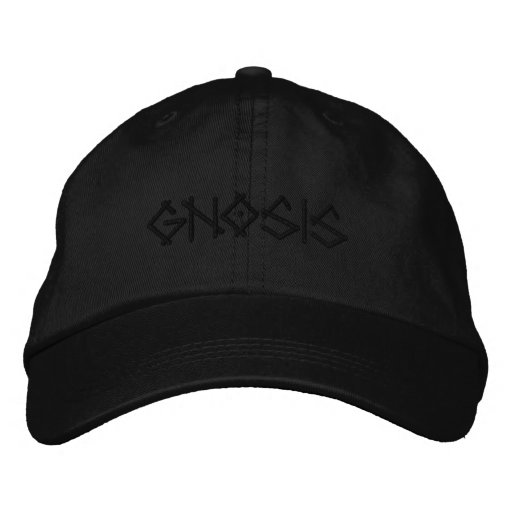 GNOSIS EMBROIDERED HAT