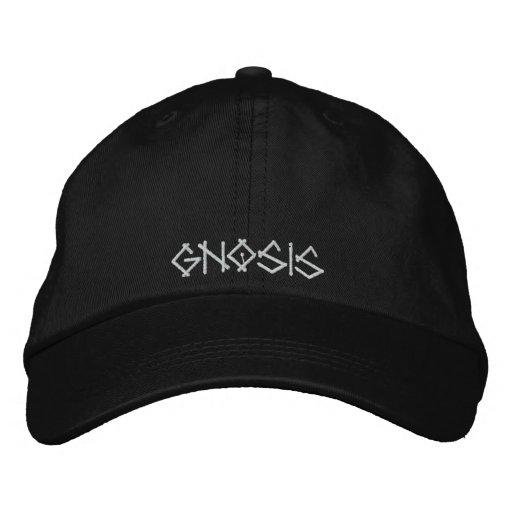 GNOSIS EMBROIDERED BASEBALL CAP