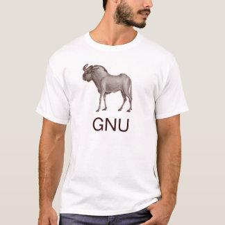 GNU Animal T-Shirt - Wildebeest - Front & Back