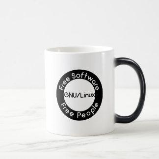 GNU/Linux Magic Mug