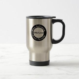 GNU/Linux Travel Mug