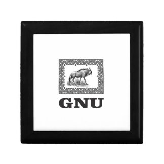 Gnu power art gift box
