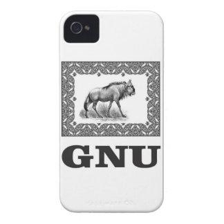 Gnu power art iPhone 4 case