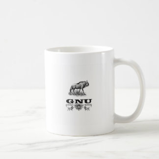 gnu power coffee mug