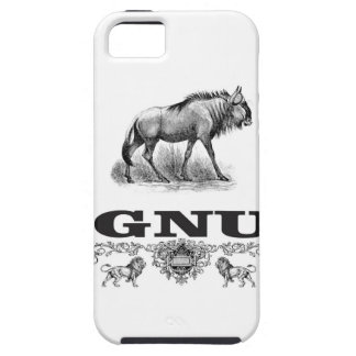 gnu power iPhone 5 cover
