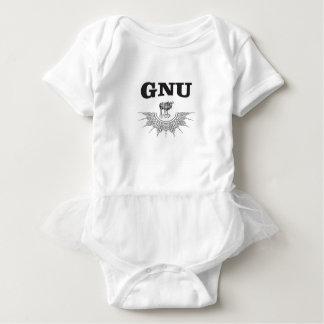 gnu wing baby bodysuit