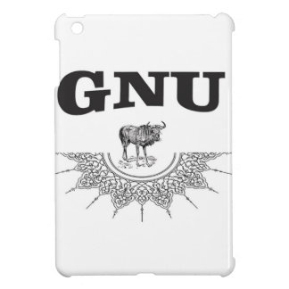 gnu wing iPad mini cover