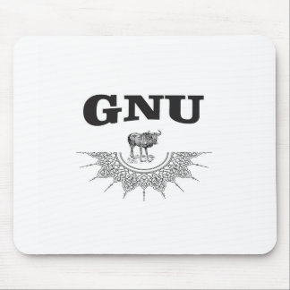 gnu wing mouse pad