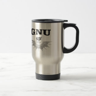 gnu wing travel mug