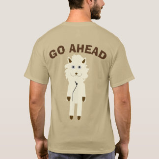 GO AHEAD lion T-Shirt