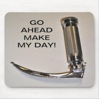 GO AHEAD MAKE MY DAY MOUSEPAD